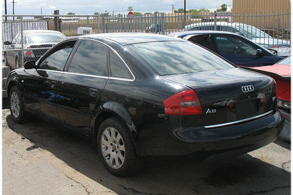 1999 Audi A6 Parts Car #080134. All Parts Shown Subject to Prior Sale