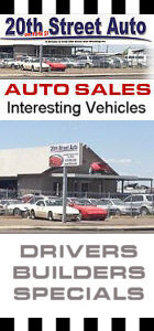 We also sell Interesting Vehicles. Not your Typical Car Lot