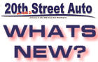 What's New @ 20th Street