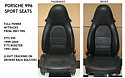 2001 Porsche 996/911/Boxster Leather Sport Seats